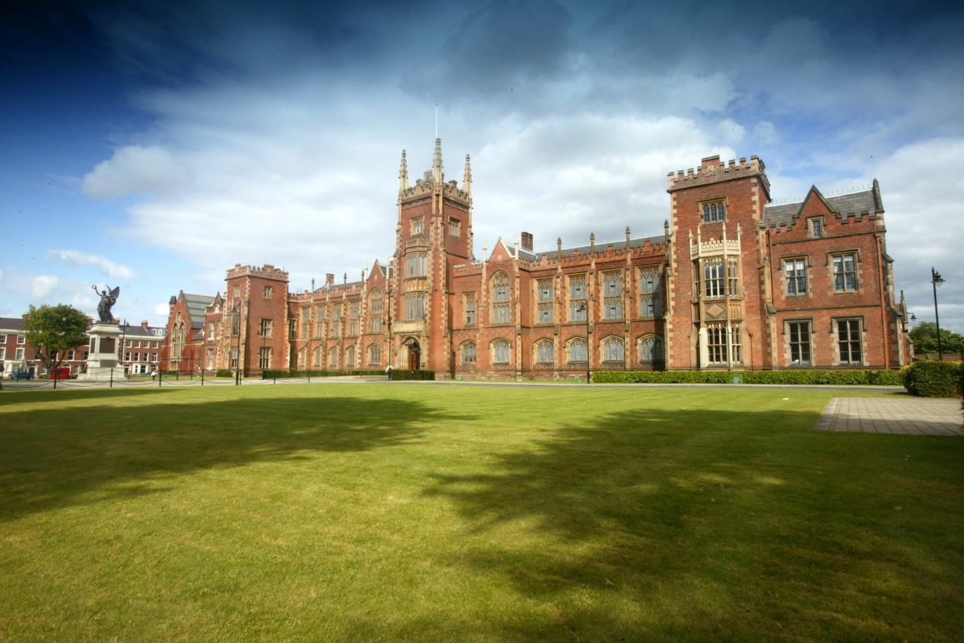 Visit The Grade A Lanyon Building Where Queens University Is Undertaking Comprehensive Conservation Project Work Includes Replacement Of Decorative